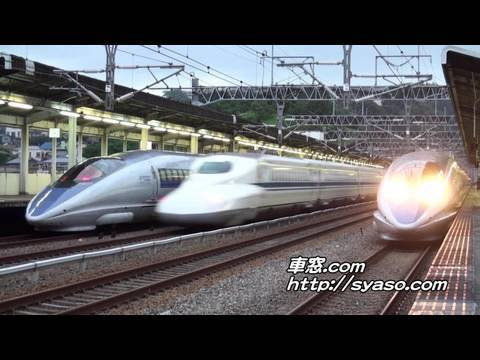 500系�����766��N700系�����117��500系�����765��N700系�����52� � Sanyo Shinkansen � Super-Express KODAMA NOZOMI � 500 Series � N700 Series � JR WEST Japan ...