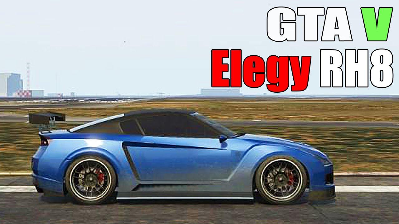 Gta 5 elegy rh8 real life