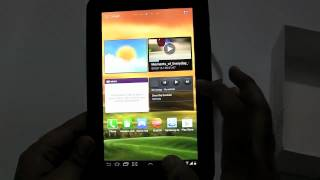 Samsung Galaxy Tab 2 310 Unboxing