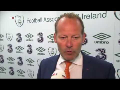Republic of Ireland v Netherlands - Post Match Interview - Danny Blind (27/5/16)