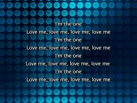 Kylie Minogue - The One, Lyrics In Video