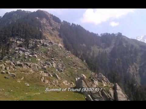 Triund + Snowline hike (McLeod Ganj, Himachal Pradesh, India)