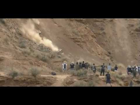 Crash Graham Agassiz in Red Bull Rampage 2016