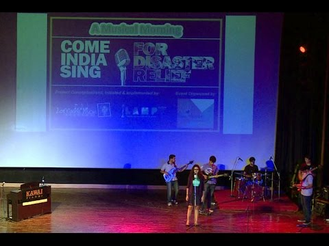 """Band Performance : """"This Love"""" by Students of Lorraine Music Academy & COME INDIA SING Band"""