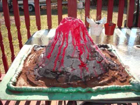 easy volcano project Watching a homemade volcano erupt is a very exciting experience for young children as they watch and learn about the amazing power of these geological formations making your own homemade volcano is really simple and requires basic material that you can find around the home.