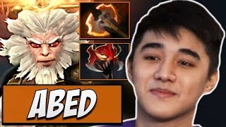 Fnatic.Abed Monkey King - 7390 MMR | Dota Gameplay