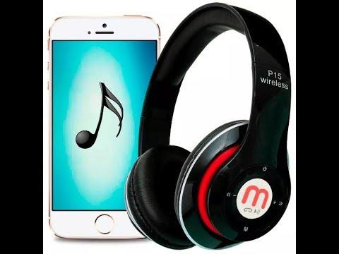 Fone de Ouvido Sem Fio Com Bluetooth Micro Sd Original Mp3 Fm (1f7)