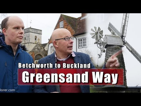 The Greensand Way - Betchworth to Buckland