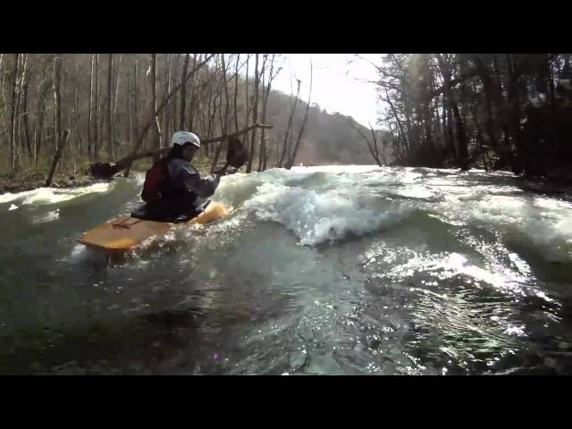 Freeride 67 on the Pigeon River