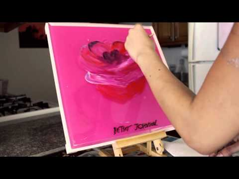 Rose Speed Painting | Aleisa Gutierrez | Asiela Designs - AD Creations
