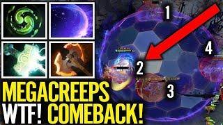 4 Man Chrono MegaCreeps ComeBack - LGD.Ame Best Void game Dota 2