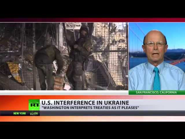 Ukraine: The 51st state? Brian Becker blasts US govt