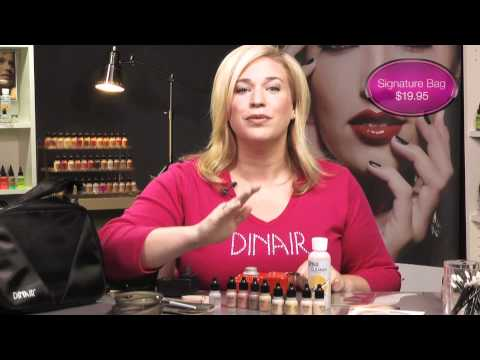 Dinair Paramedical Airbrush Makeup Kit