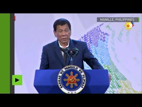 «Ne venez pas me faire chier avec la souveraineté de mon pays», Duterte met L'UE en garde