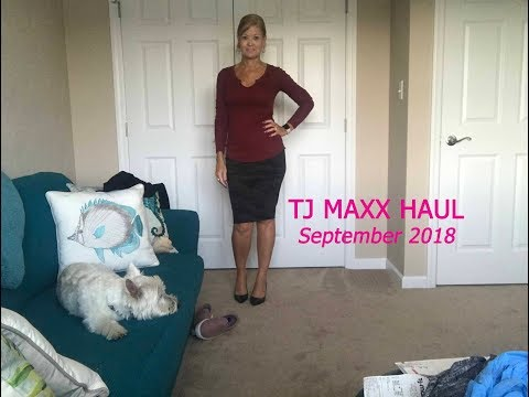 TJ Maxx Haul - September 2018:  Work and fun styles for under $100!
