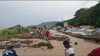 El temporal Erika azota la isla de Dominica, donde han muerto al menos 12 personas