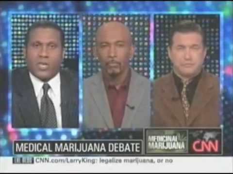 Montel Williams Debates Medical Marijuana on Larry King