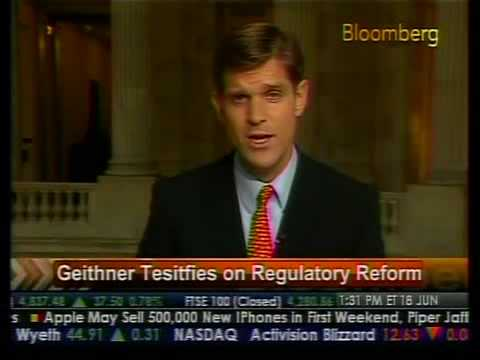 Update - Geithner Testimony Postponed - Bloomberg