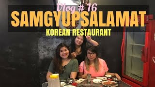 KOREAN RESTAURANT IN TAFT | VLOG#16