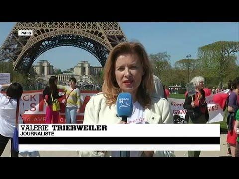 #BringBackOurGirls : Valérie Trierweiler appelle la communauté internationale à