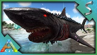 THE COLOSSUS MEGALODON BOSS BATTLE! SPINOSAURUS VS THE MEG! - Ark: Jurassic Park [E34]