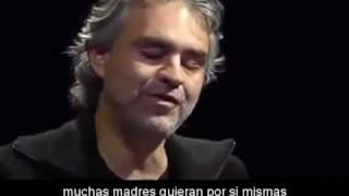 Andrea Bocelli Cuenta Que Propusieron El Aborto A Su Madre Sub En Español