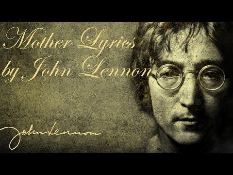John Lennon - Mother (Lyrics)