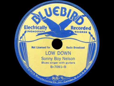 Sonny Boy Nelson - Low Down (1937)