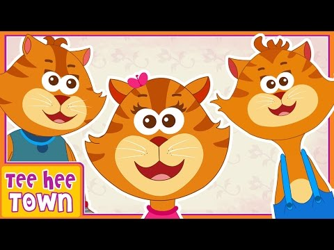 Three Little Kittens | Nursery Rhymes For Children | Kids Songs by Teehee Town