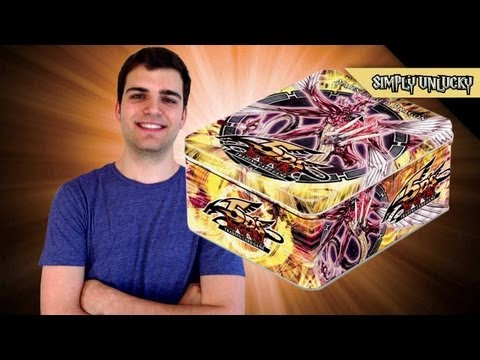 Best Yugioh 2010 Majestic Red Dragon Tin Opening!.. SimplyUnlucky