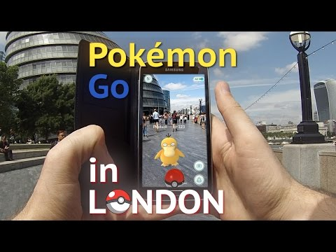 Pokemon Go gameplay: Playing Nintendo's hit smartphone app on the streets of London