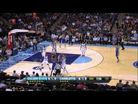 Stephen Curry 27 Points @ Charlotte Bobcats - 10/12/2012