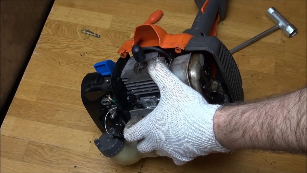 Мотокоса хускварна ремонт своими руками 35