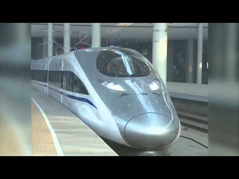 The World's Longest & Fast Train Is Now Open in China | Bullet Train