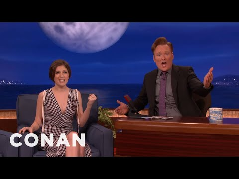 Anna Kendrick & Conan Burst Into Song  - CONAN on TBS