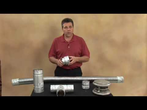 Pellet Stove or Fireplace Venting Demonstration: Part 2