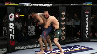 EA UFC 3 FLYING KIMURA from Back Clinch with Tony Ferguson