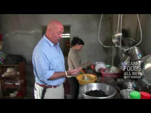 Eating Tarantulas in Cambodia