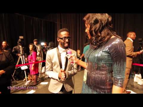 2013 Stellar Awards  Tye Tribett interview with Stylista KT
