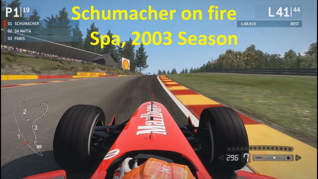 Schumacher 2013 f1 Ferrari f1 2013 f1 2003 Mod