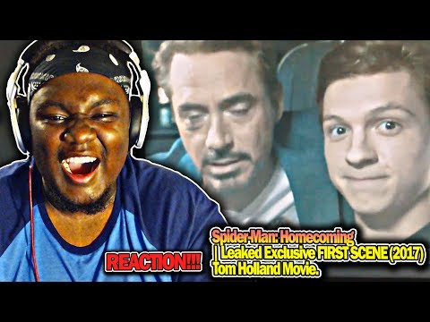 Spider-Man: Homecoming | Leaked Exclusive FIRST SCENE (2017) Tom Holland Movie. REACTION!!! thumbnail