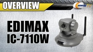 Newegg TV_ Edimax IC-7110W Wireless IP Camera With e-cloud Plug-n-View Feature Overview
