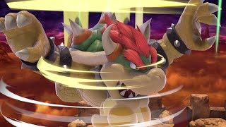 Bowser is THE BEST HEAVY in Smash Bros. Ultimate