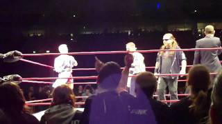 Jeff Jarrett VS. Murat Bosporus (Entrance) Maximum Impact Tour 2011 Berlin, Deutschland