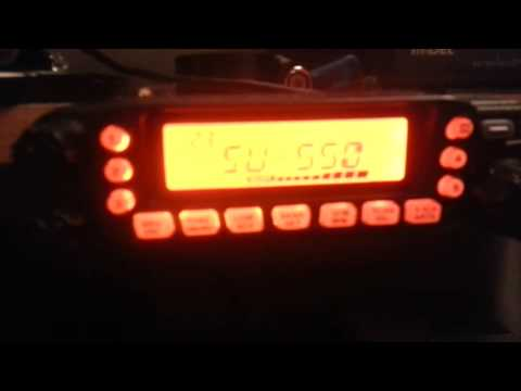 Reception of 2e0slk on his yaesu vx7-r handheld on 433.550