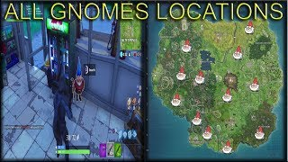 fortnite season 4 week 8 search hungry gnomes challenge all locations - fortnite 7 hungry gnomes