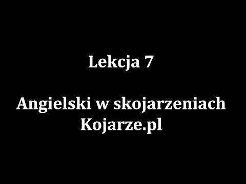 Lekcja 7 - System Nauki Słówek