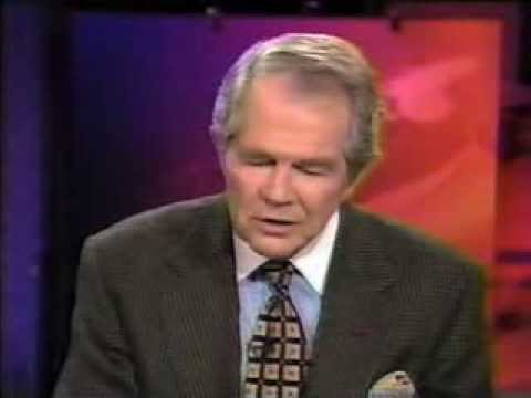 Porn On The Internet! Pat Robertson Says It's Not Free Speech! (march 19, 1997) video