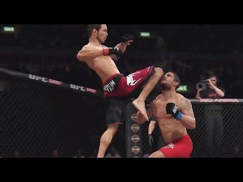 UFC 179 EA SPORTS UFC Simulation  Aldo vs Mendes