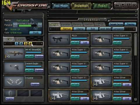 Crossfire Indonesia - Kriss Super V Tiger Capsule Part 2, By : EyangSrini